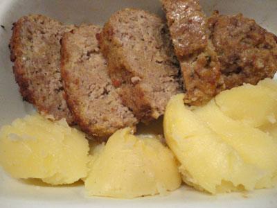Ricetta polpettone di vitello e salsiccia con patate