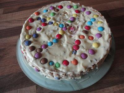 Ricetta Torta Crema Chantilly Con Gocce Di Cioccolato E
