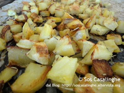 Ricetta Patate arrosto con rosmarino