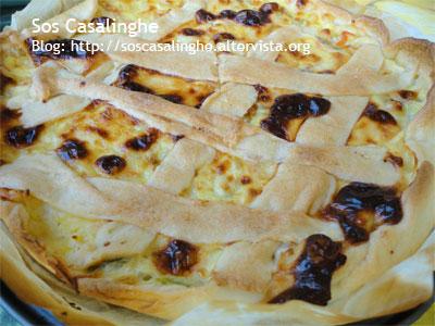 Ricetta Torta Salata Di Pasta Brisè Con Fiori Di Zucca Sos Casalinghe
