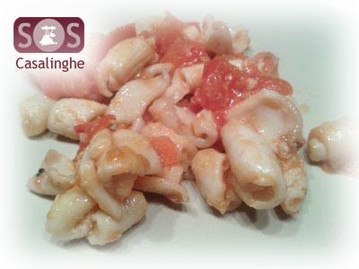 Ricetta Calamari con Pomodori