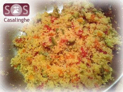 Ricetta Cous Cous con Zucchine e Pomodori