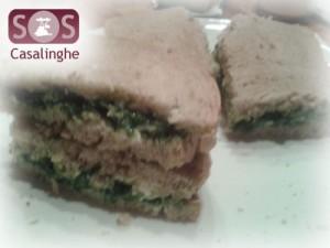 Ricetta Sandwich al Salmone e Spinaci