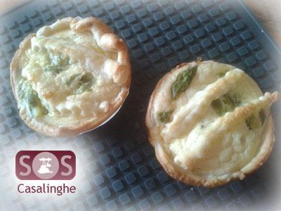 Ricetta Tartelette con Asparagi