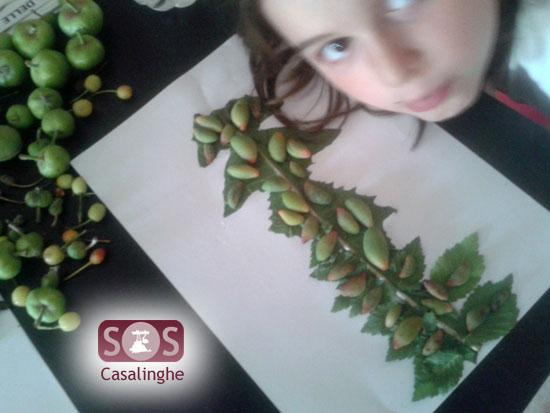 Attività per Bambini: Raccolta di frutti con disegno