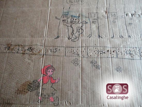 Attività per bambini: Gioco di Cappuccetto Rosso