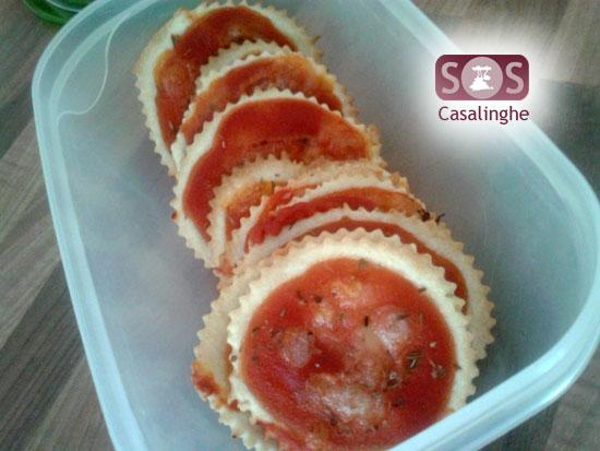 Ricetta Crackers Pizza