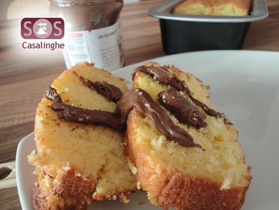 Ricetta Plum Cake di Arancia