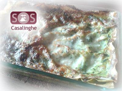 Ricetta Lasagne con Spinaci