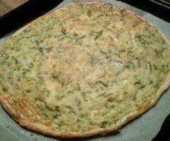 Pizza di Pasta Brisè con Verdure