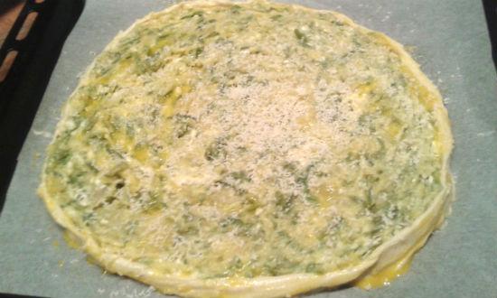 Ricetta Pizza di Brisè con Verdure