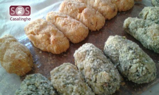 Ricetta Crocchette di Salmone e Verdure