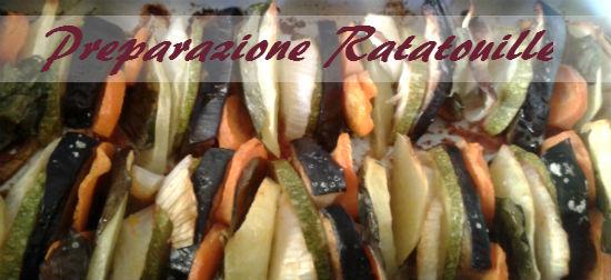 Preparazione Ratatouille