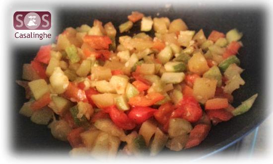 Ricetta Cous Cous di Verdure